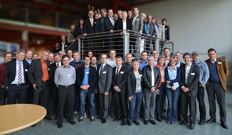 25 Jahre CarSharing: Anbieter und ehemaligen Aktivisten auf der bcs-Festveranstaltung in Osnabrück