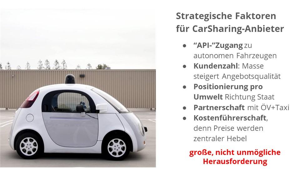 Autonomes Fahren: Herausforderungen für die CarSharing-Branche (Quelle: Harald Zielstorff)