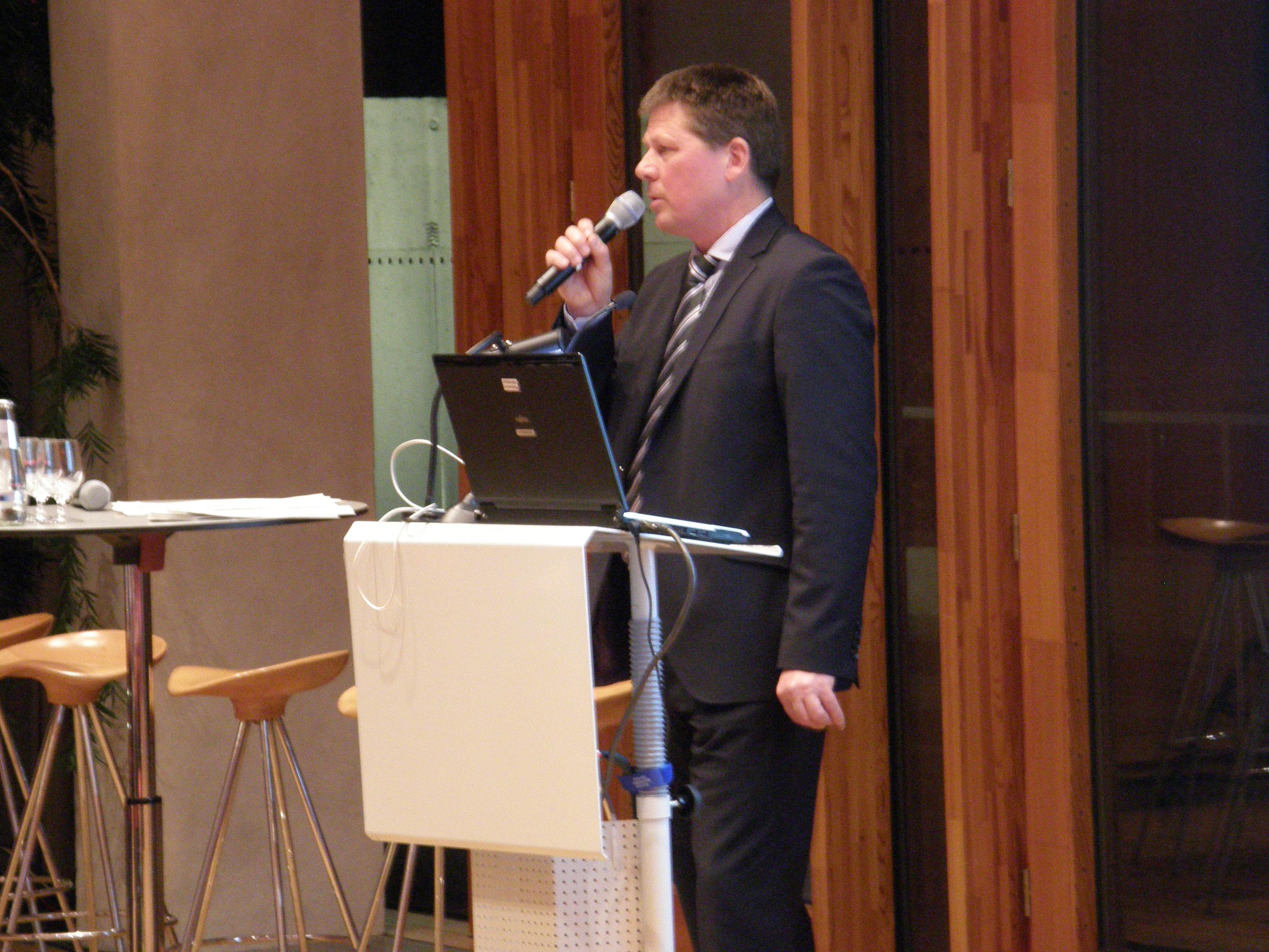 Dr. Joachim Lohse, Bremer Senator für Umwelt, Bau und Verkehr